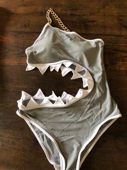 Halloween/Costume/Bathing suit -Shark Bite for Sale in Penllyn,  PA