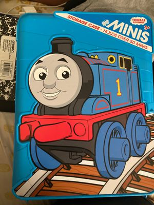 Thomas And Friends Minis Storage Case with 26 mini Thomas and Friends for Sale in Litchfield Park, AZ