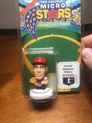 Lenny dykstra Phillies sports action figure for Sale in Goodyear, AZ