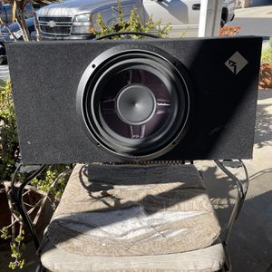 """12"""" flat box subwoofer for Sale in Norco, CA"""