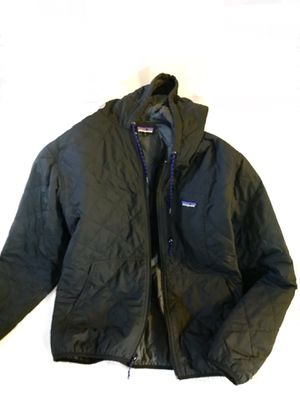 Patagonia hooded quilted bomber jacket men's XXL for Sale in Seattle, WA