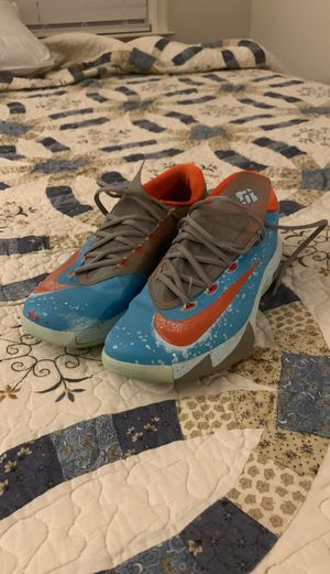 Nike KD 6 'MD Blue Crab' M size 9.5 for Sale in Laurel, MD