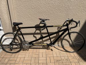 Cannondale Tandem Road Bike 21 Speed Vintage Immaculate Bicycle for Sale in Tampa, FL