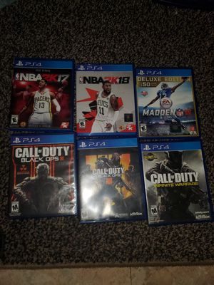 Ps4 games for Sale in Bartow, FL