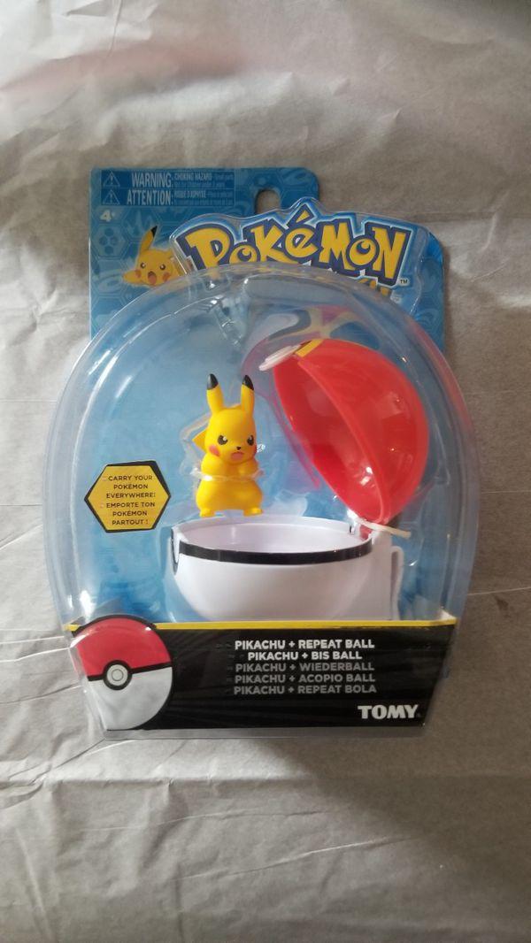 Pokemon Repeat Ball Pikachu Tomy