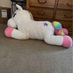 Giant Unicorn Plush for Sale in Medford,  NJ
