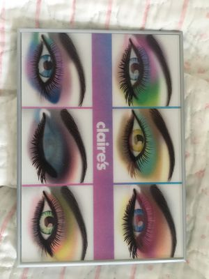 Clair's eyeshadow pallet beautiful colors for Sale in Queens, NY