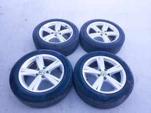 Set of 17 inch Audi Volkswagen Jetta Passat Wheels for Sale in Chesapeake, VA