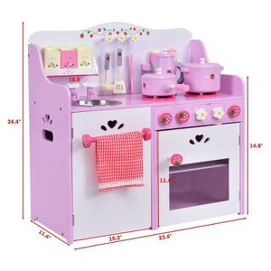 Brand New Kids Pretend Toy Kitchen Cooking Set for Sale in Los Angeles, CA