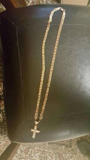 24k gold plated chain 30'' for Sale in Severn, MD