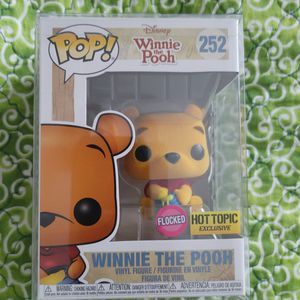 Funko Pop exclusive flocked Winnie the Pooh for Sale in Lancaster, PA