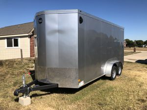 2019 Wells Cargo 7x16 Enclosed Trailer for Sale in Justin, TX