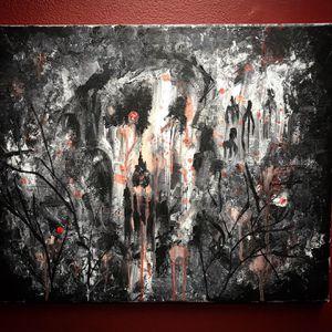 """Black conscious"" acrylic painting for Sale in Lexington, KY"