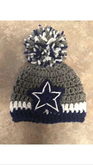 92d515bb97b8d Newborn to 3 month handmade Dallas cowboy hat for Sale in El Paso