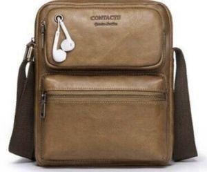 """Genuine Leather 11"""" Messenger Crossbody Shoulder Bag Travel Handbag for Sale in Calabasas, CA"""