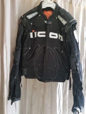 Icon Motorcycle Jacket Medium for Sale in Pembroke Park, FL