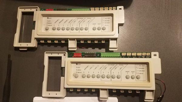 Pool control panels