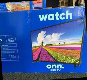 "Brand New 4K ONN UHDTV 50"" Open box w/ warranty UH for Sale in Ontario, CA"