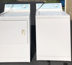 Washer and Dryer, Magic Chef Heavy Duty for Sale in Lombard, IL