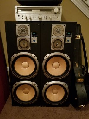 Sansui Vintage 4×12 Stereo Speakers for Sale in Naperville, IL