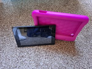 Amazon fire tablet with case for Sale in West Bloomfield Township, MI