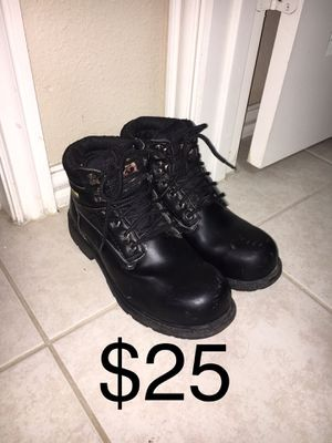Black Steel Toe Work Boots 11 for Sale in Dallas, TX