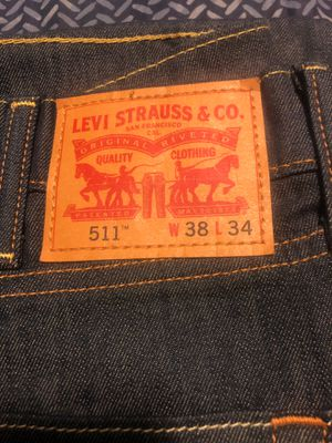 511 Levis w38 L34 for Sale in Fontana, CA
