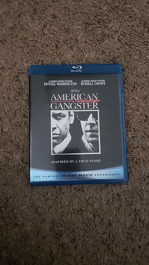 American Gangster Blu Ray for Sale in Sioux Falls, SD