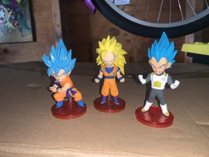 Dragonball z figures & keychains for Sale in Long Beach, CA