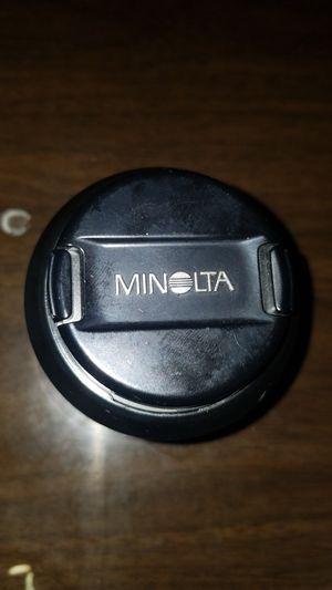 Minolta lens camera for Sale in Houston, TX