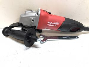 Milwaukee 7 Amp Corded 4-1/2 in. Small Angle Grinder with Sliding Lock-On Switch for Sale in Bakersfield, CA