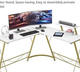 New Desk Used Twice. No Damage. Moved and Need A Smaller Desk. for Sale in Clinton,  WA