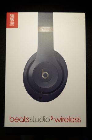 BRAND NEW Beats Studio 3 Wireless (blue) for Sale in Edison, NJ