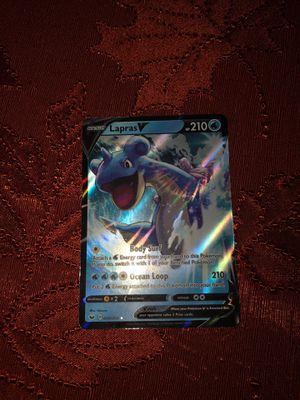 Lapras halo Pokémon card for Sale in Gilbert, AZ