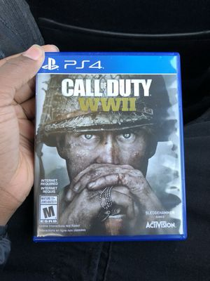 Call of Duty WWll PS4 for Sale in Severn, MD
