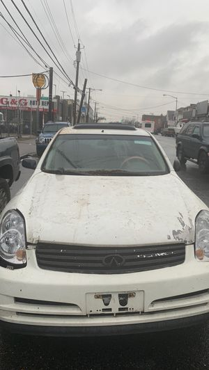 2003 infinity G35 RWD for parts only for Sale in Queens, NY