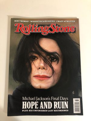 Michael Jackson Rolling Stone Magazine for Sale in Laveen Village, AZ