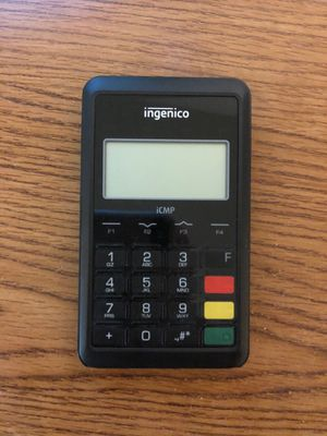 Credit card reader, ingenico, iCAMP, ICM122 for Sale in Potomac, MD