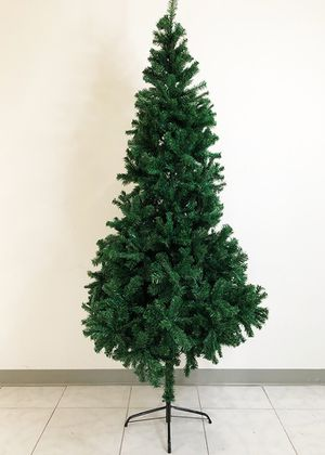 Brand New $30 Artificial 7ft Tall Christmas Tree PVC Branches for Sale in Downey, CA