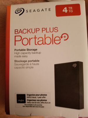 Back up portable storage 4tb for Sale in Santa Clarita, CA