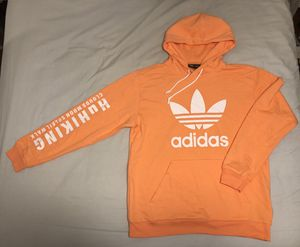 Adidas x Pharrell Williams Hoodie Peach limited edition Men Large like new L Unisex for Sale in Plantation, FL