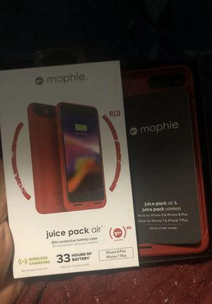 Mophie iPhone 8+ charging case for Sale in Lynchburg, VA