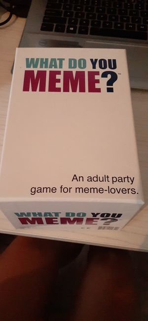 Game : what do you meme? Card game for Sale in Bakersfield, CA