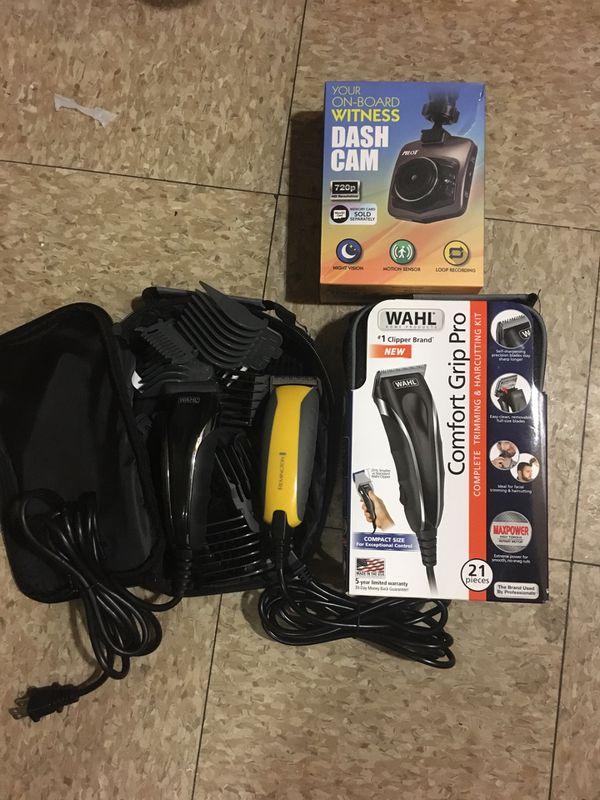 Walh clippers including car cámara