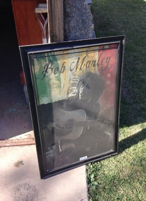 Bob Marley picture and frame for Sale in Buckeye, AZ