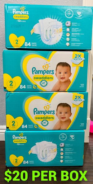 Pampers Swaddled size 2 for Sale in Long Beach, CA