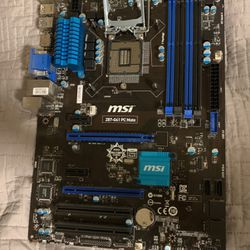Sturdy MSI ITX Motherboard (intel) for Sale in Federal Way,  WA