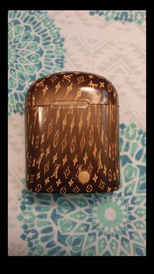 Fully working Louis Vuitton wrapped wireless earbuds. for Sale in Parkland, FL