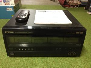 Pioneer 100 CD Changer with Remote for Sale in Manchester, MO
