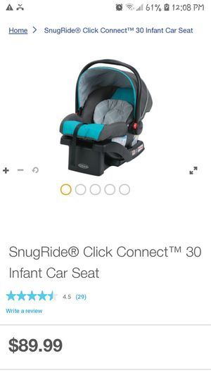 SnugRide® Click Connect™ 30 Infant Car Seat Model 1965899 for Sale in Houston, TX